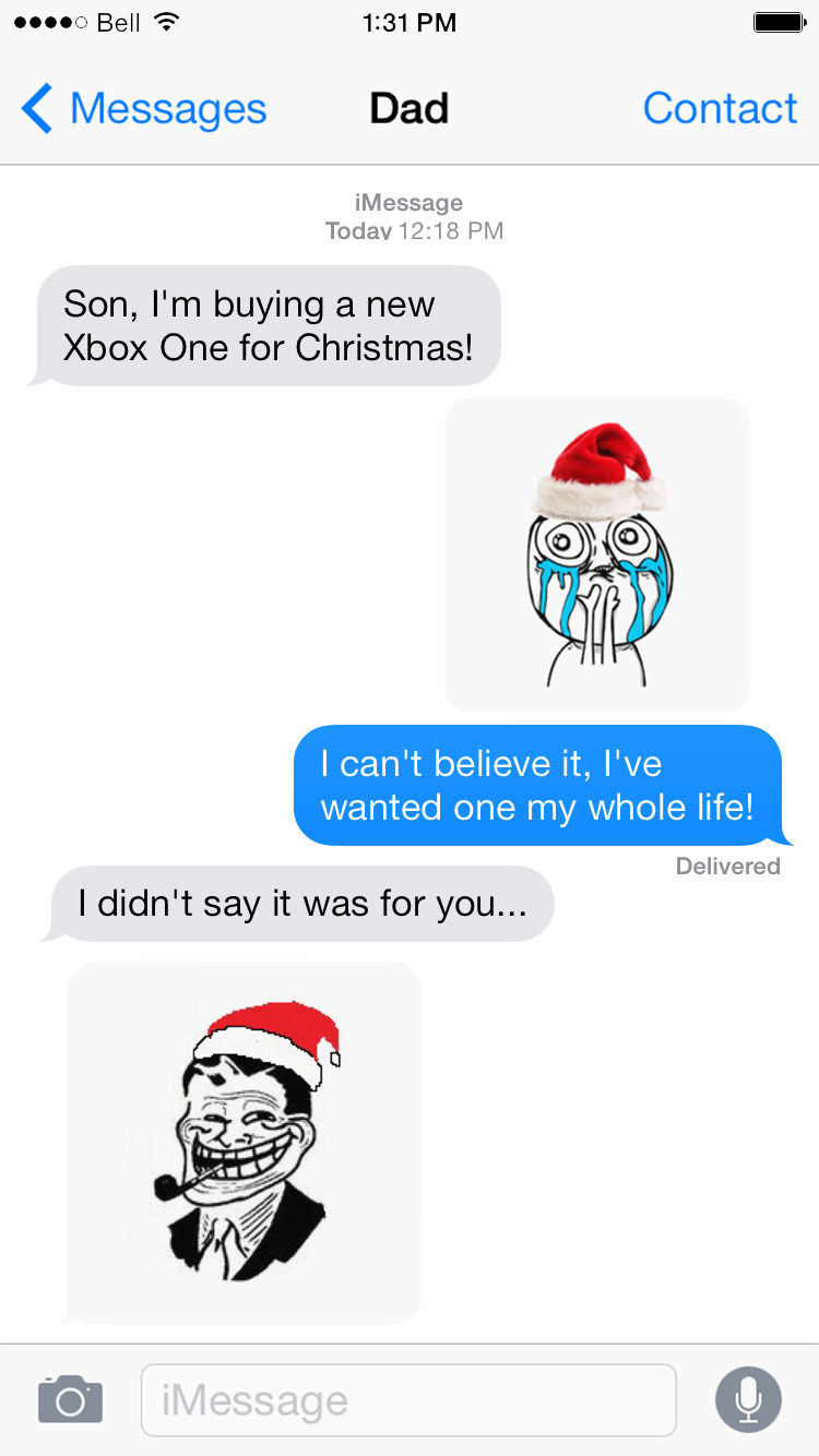 SMS Rage Faces - Touche Apps